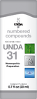 Unda 31 - 20 ml (0.7 fl oz)
