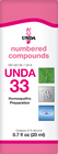 Unda 33 - 20 ml (0.7 fl oz)