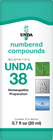 Unda 38 - 20 ml (0.7 fl oz)