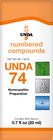Unda 74 - 20 ml (0.7 fl oz)