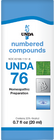 Unda 76 - 20 ml (0.7 fl oz)