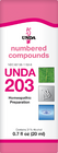 Unda 203 - 20 ml (0.7 fl oz)