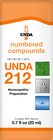 Unda 212 - 20 ml (0.7 fl oz)