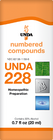 Unda 228 - 20 ml (0.7 fl oz)