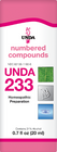 Unda 233 - 20 ml (0.7 fl oz)