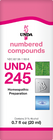 Unda 245 - 20 ml (0.7 fl oz)