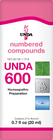 Unda 600 - 20 ml (0.7 fl oz)