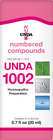 Unda 1002 - 20 ml (0.7 fl oz)