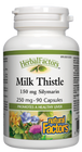 Natural Factors Milk Thistle Extract 250 Mg 90 Capsules