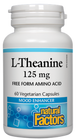 Natural Factors L Theanine 125 Mg 60 Veg Capsules