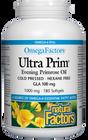 Natural Factors OmegaFactors Ultra Prim Evening Primrose Oil