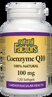 Natural Factors Coenzyme Q10 - 100 Mg 120 Softgels