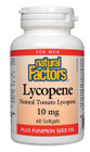 Natural Factors Lycopene 10 mg 60 Softgels