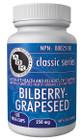 Aor Bilberry - Grapeseed 120 Veg Capsules