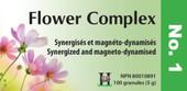 Holistica Flower Complexes No 1 - 100 Sublingual Tablets