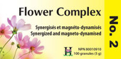 Holistica Flower Complexes No 2 - 100 Sublingual Tablets