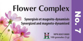Holistica Flower Complexes No 7 - 100 Sublingual Tablets