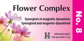 Holistica Flower Complexes No 8 - 100 Sublingual Tablets