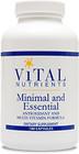 Vital Nutrients Minimal and Essential 90 Capsules