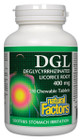 Natural Factors DGL 180 Chewable Tablets