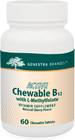 Genestra Active Chewable B12 With L Methylfolate  60 Tablets