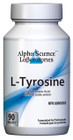 Alpha Science L-Tyrosine 400mg 90 Capsules