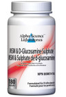 Alpha Science MSM & D-Glucosamine Sulphate 180 Capsules