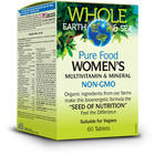 Whole Earth & Sea Women's Multivitamin & Mineral 60 Tablets By Natural Factors