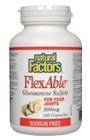 Natural Factors FlexAble Glucosamine Sulfate 500 mg 500 Capsules