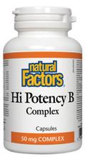 Natural Factors Hi Potency B Complex