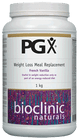 Bioclinic Naturals PGX Weight Loss Meal Replacement French Vanilla 1Kg