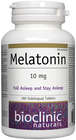 Bioclinic Naturals Melatonin 10 mg - 180 Sublingual Tablets