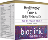Bioclinic Naturals Healthworks' Core 4 Daily Wellness Kit