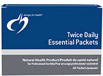 Designs for Health Twice Daily Essential Packets - 60 Veg Capsules
