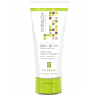 Andalou Naturals Kukui Cocoa Body Butter 236 ml