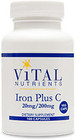 Vital Nutrients Iron Plus C 100 Capsules