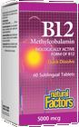 Natural Factors Vitamin B12 Methylcobalamin 5000 Mcg