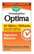 Nature's Way Primadophilus Optima 50 Billion 30 Veg Capsules
