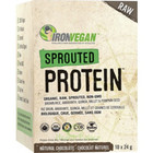 Iron Vegan Sprouted Protein Chocolate Pack of 10 Single Serving