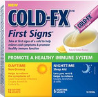 Cold-FX First Signs Daytime & Nighttime Combo 18 Sachets