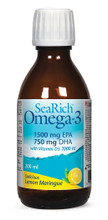 SeaRich Omega 3 With Vitamin D3 Lemon Meringue 200 ml