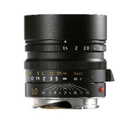 Leica 50mm F1.4 Summilux-M Asph. Lens Black (New)