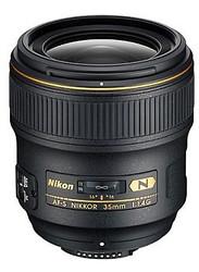 Nikon AF-S 35mm F1.4G Lens (New)