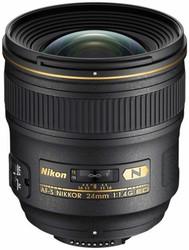 Nikon AF-S 24mm F1.4G Lens (New)