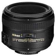 Nikon AF-S 50mm F1.4G Lens (New)