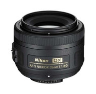 Nikon AF-S 35mm F1.8G DX Lens (New)