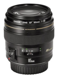 Canon EF 85mm F1.8 USM Lens (Used)