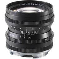 Voigtlander 50mm F1.5 Nokton Asph Lens  M Mount Black (New)