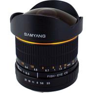 Samyang 8mm F3.5 Fisheye UMC II Nikon AE APS-C Lens (Now in Stock)