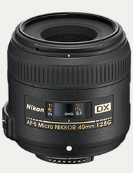 Nikon AF-S 40mm F2.8G DX Micro Lens (New)